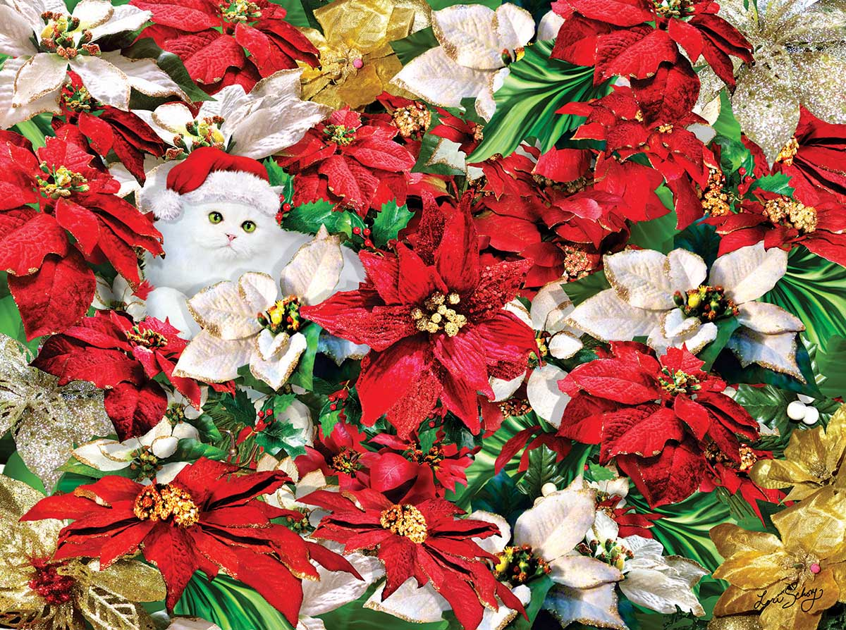 Popping Out Cats Jigsaw Puzzle