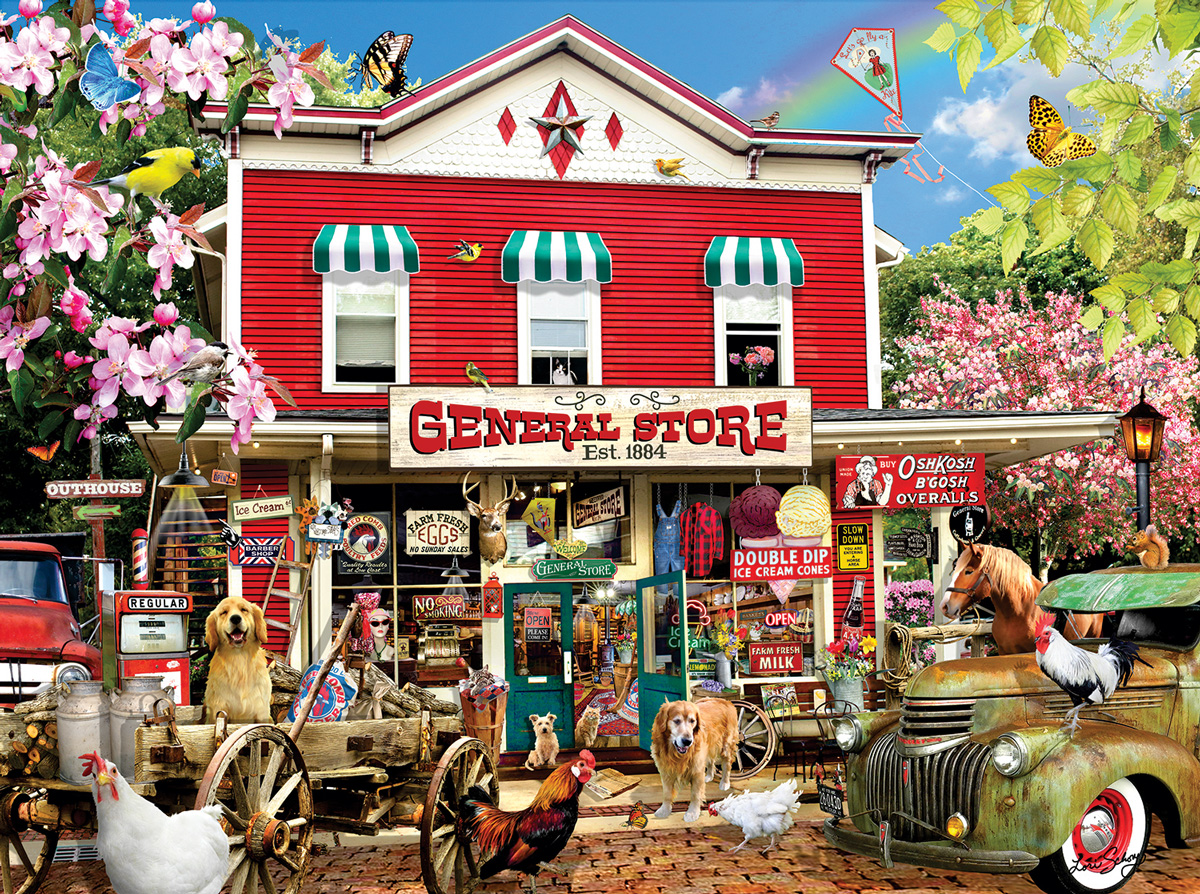 Established 1884 General Store Jigsaw Puzzle
