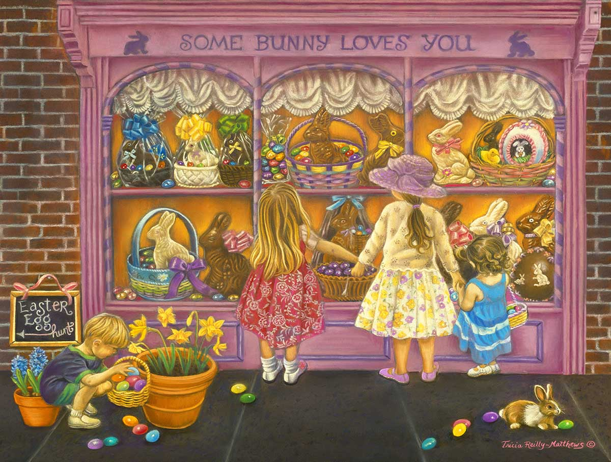 Some Bunny Loves You Easter Jigsaw Puzzle