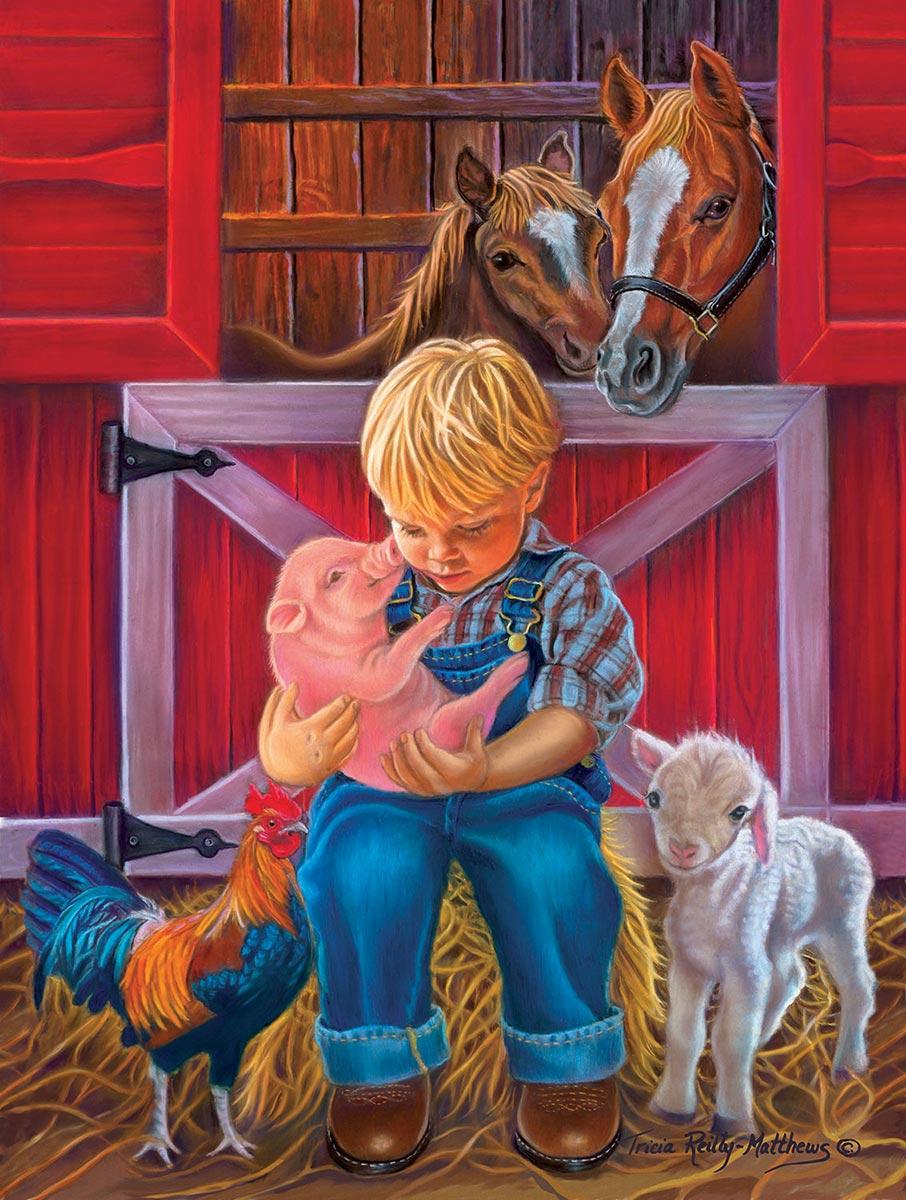 Little Farm Friends Farm Animals Jigsaw Puzzle