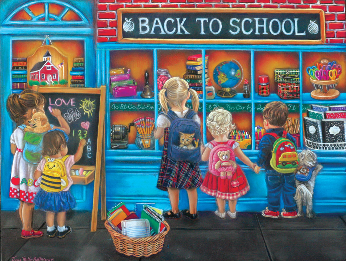 Back to School - Scratch and Dent Jigsaw Puzzle