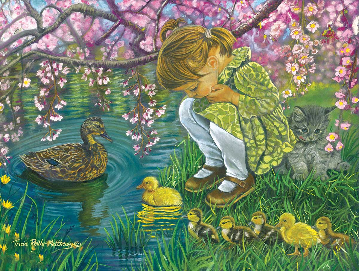 A Mother's Love Birds Jigsaw Puzzle