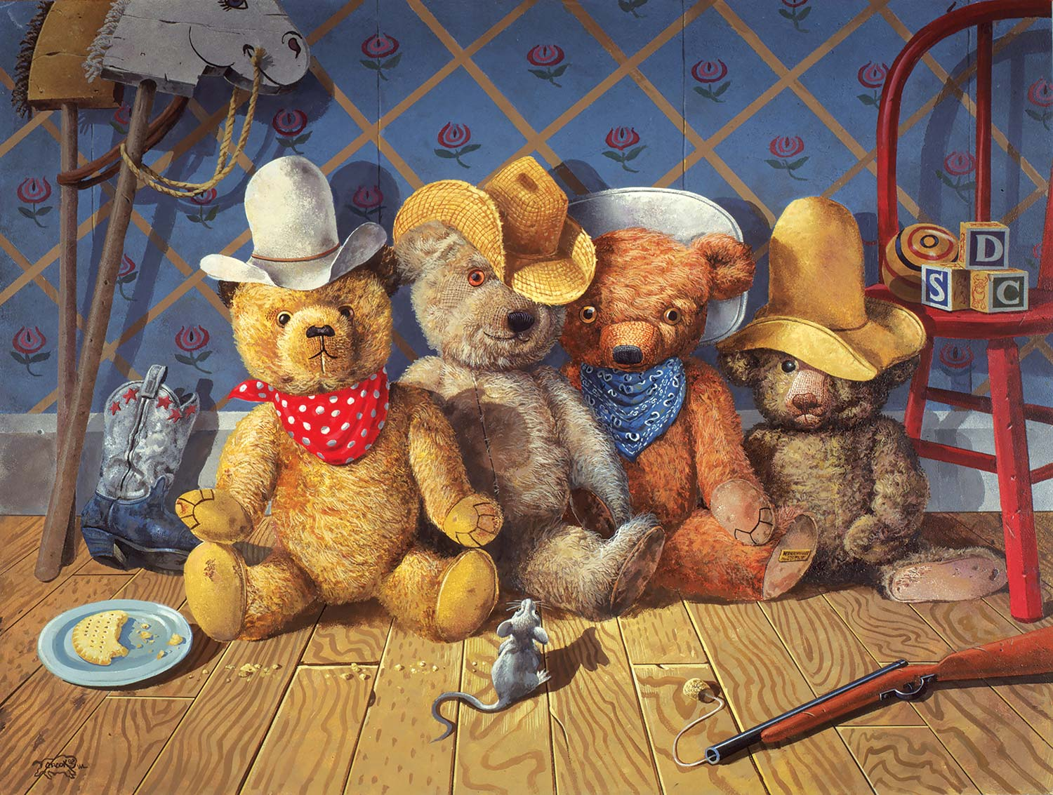 The Wild Bunch Bears Jigsaw Puzzle