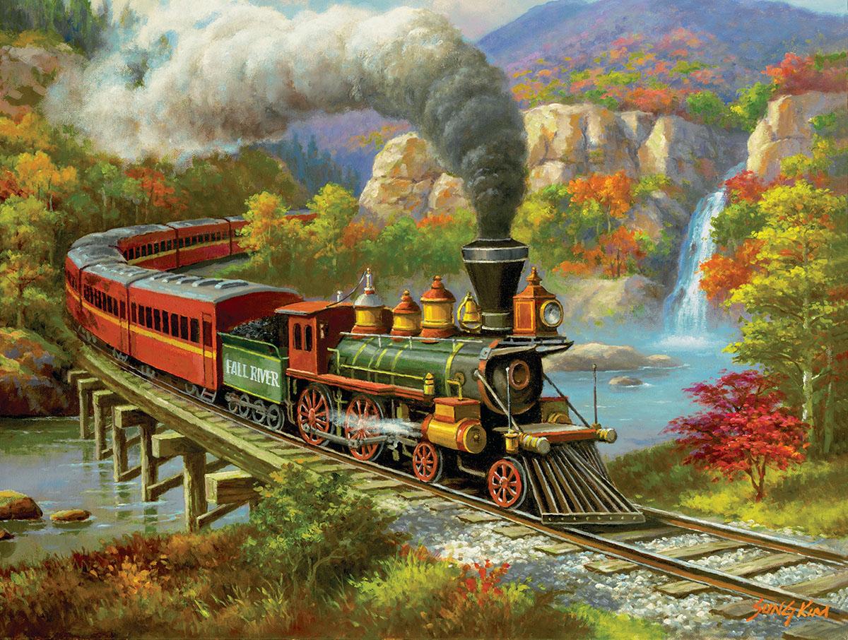 Fall River Ltd. Fall Jigsaw Puzzle