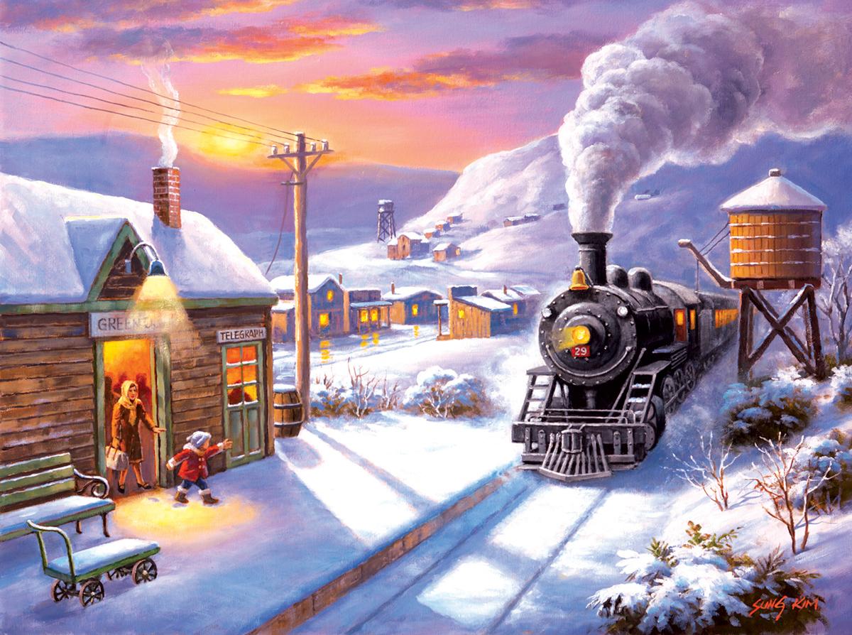 Greenville Depot 1000 Travel Jigsaw Puzzle