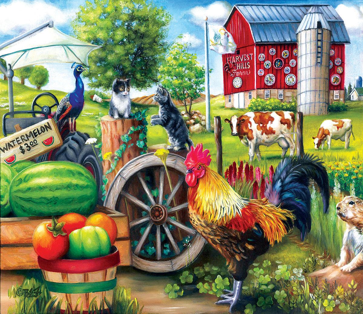 Harvest Hills Farm Jigsaw Puzzle