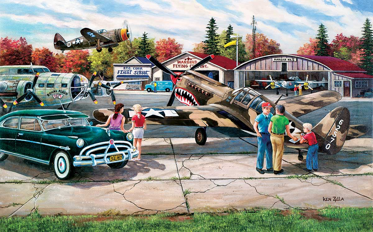 War Bird Rally Planes Jigsaw Puzzle