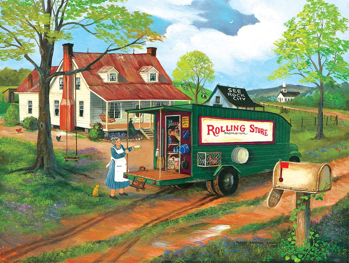 The Rolling Store Countryside Jigsaw Puzzle