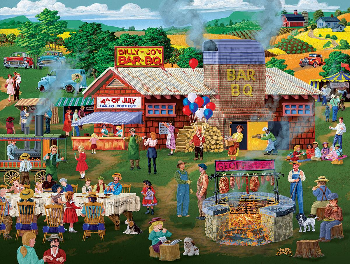 Billy Jo's BBQ Fourth of July Jigsaw Puzzle