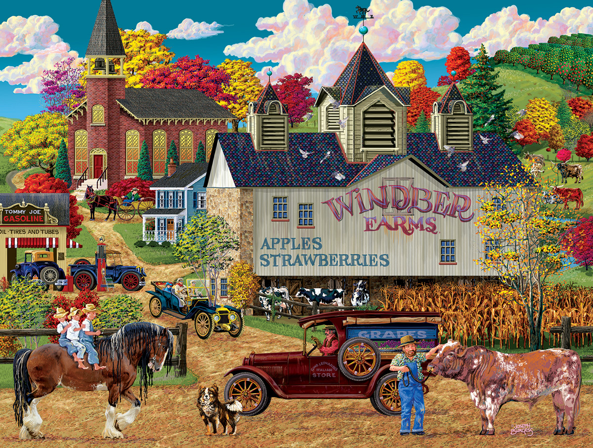 Windber Farms Farm Jigsaw Puzzle