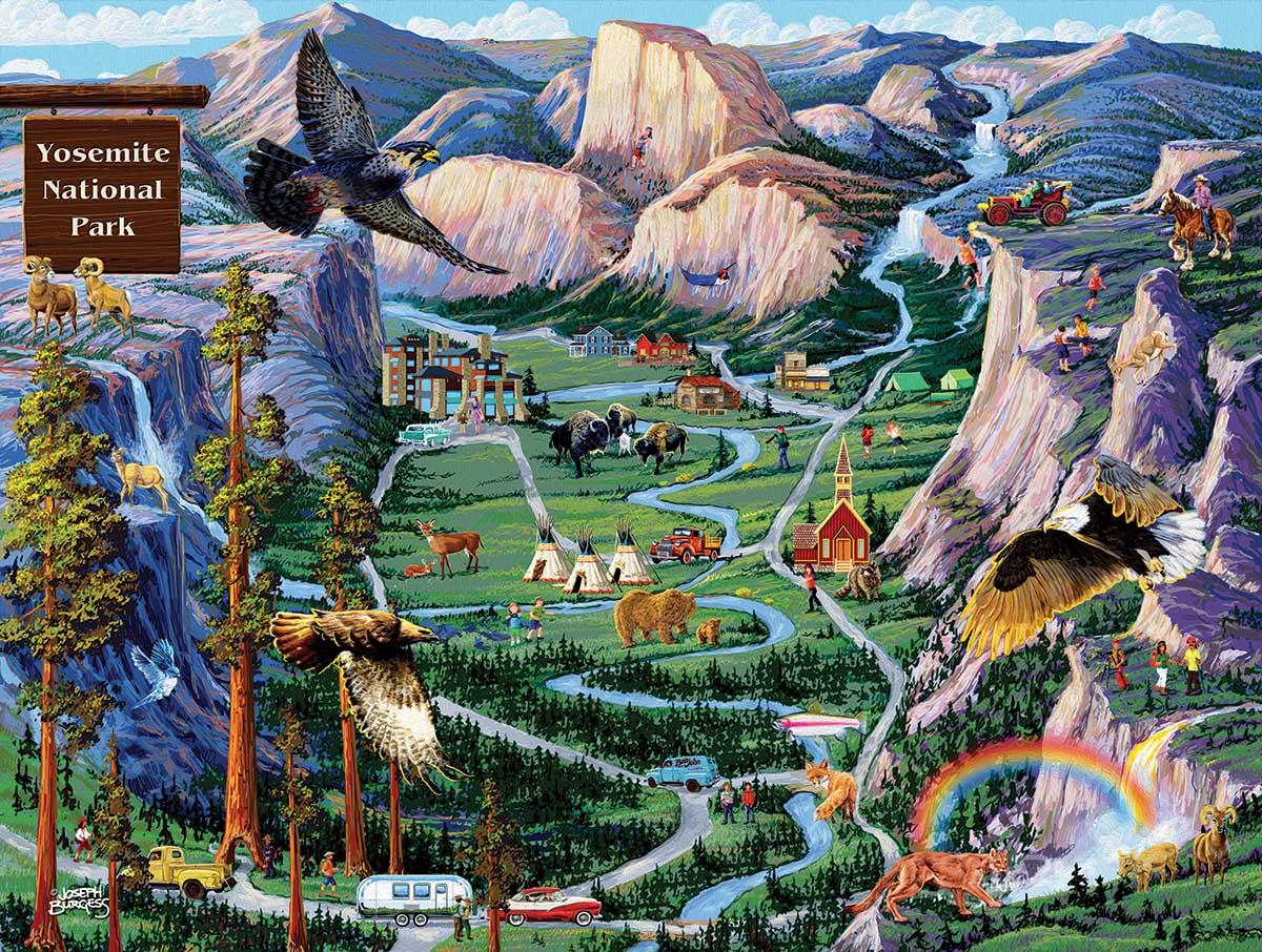 Yosemite Adventures National Parks Jigsaw Puzzle