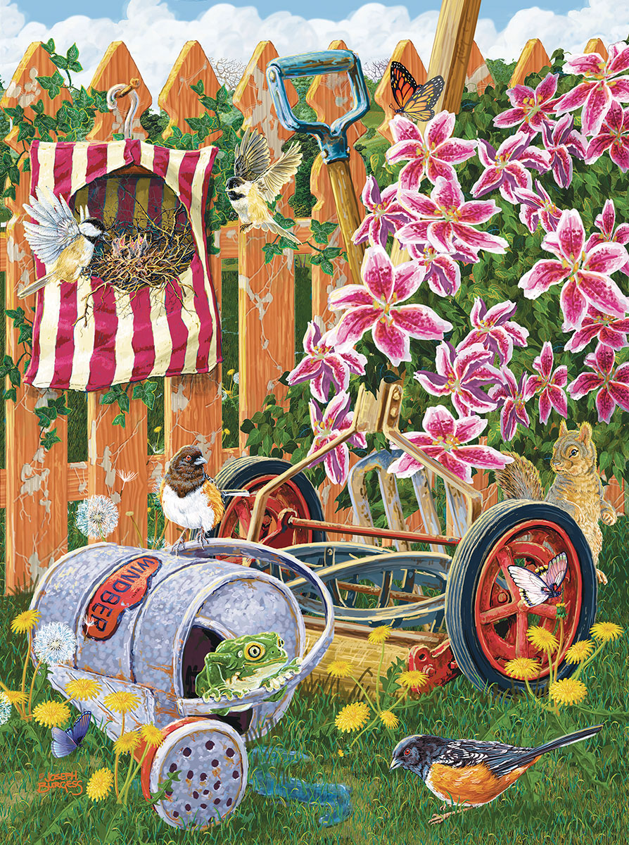 A Fine Nesting Place - Scratch and Dent Garden Jigsaw Puzzle