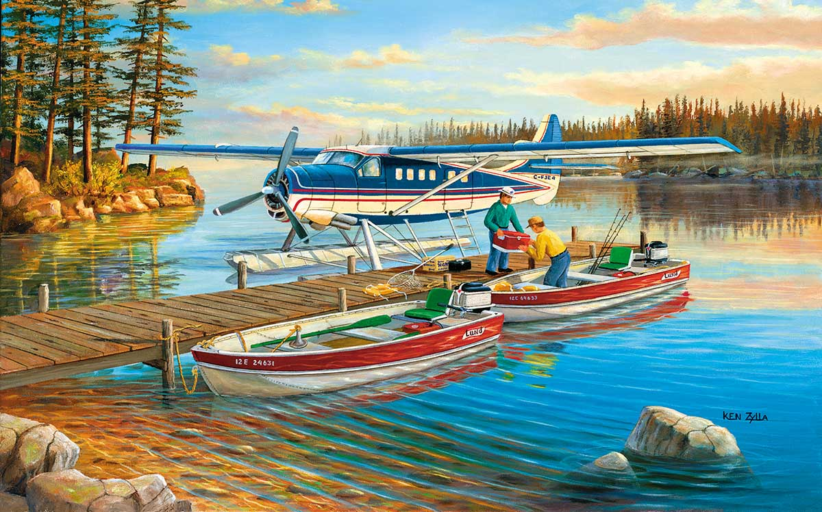 Pickle Lake Planes Jigsaw Puzzle