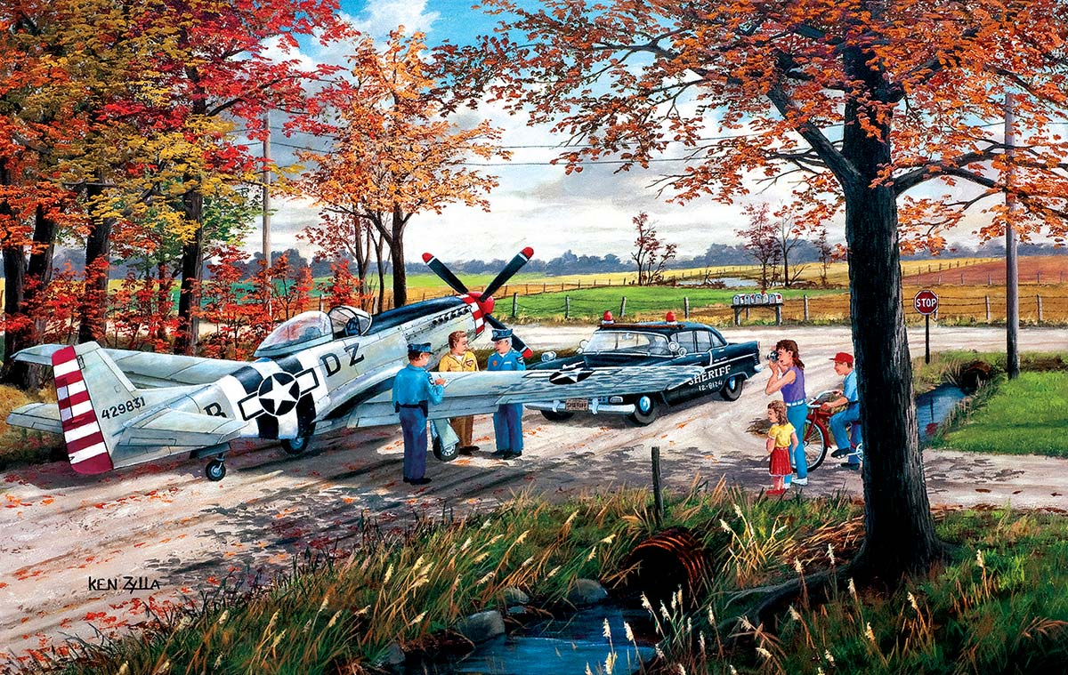 Emergency Landing Fall Jigsaw Puzzle