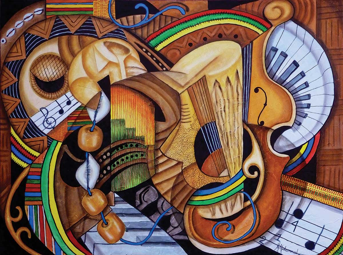 Musical Ties Music Jigsaw Puzzle