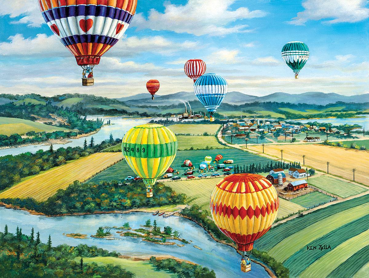 Ballooner's Rally Balloons Jigsaw Puzzle