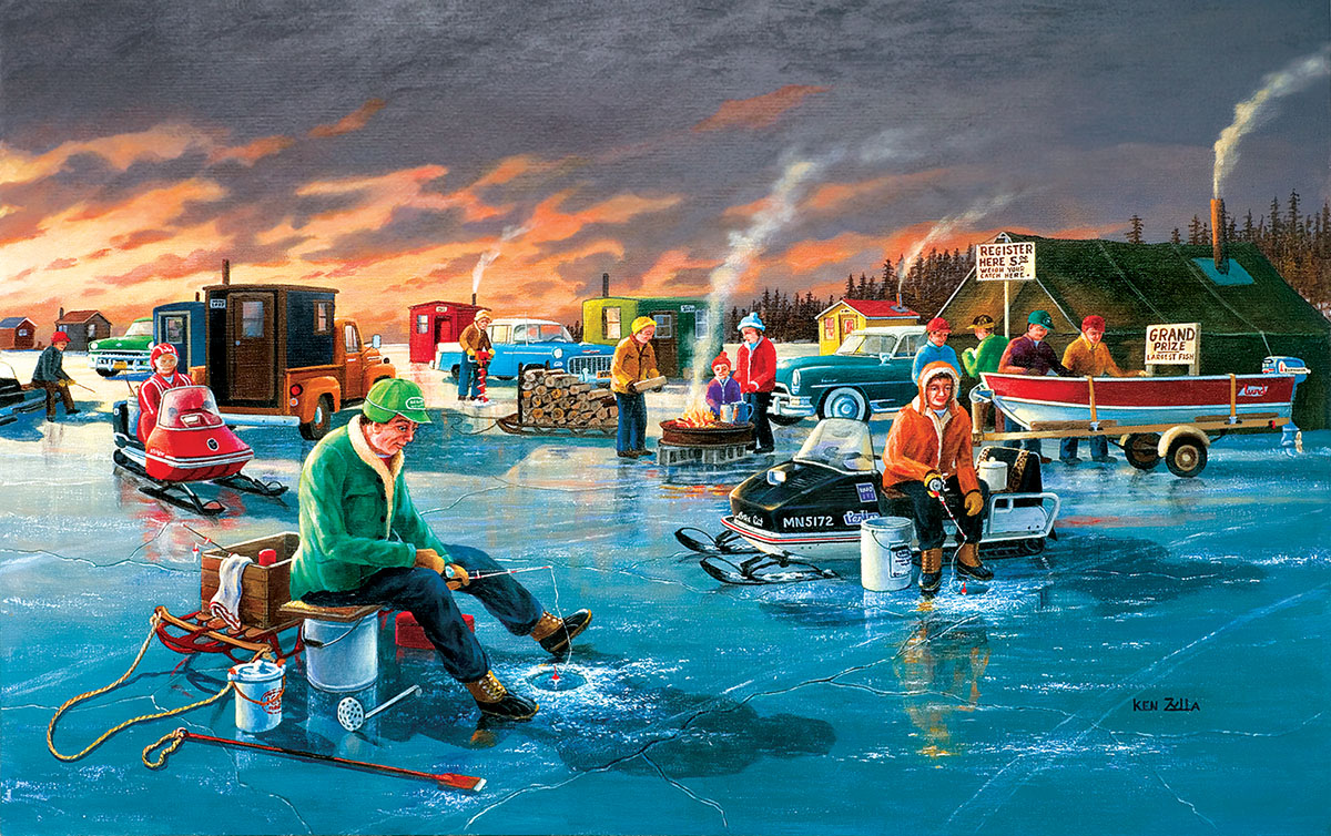 Fishing Contest - Scratch and Dent Jigsaw Puzzle