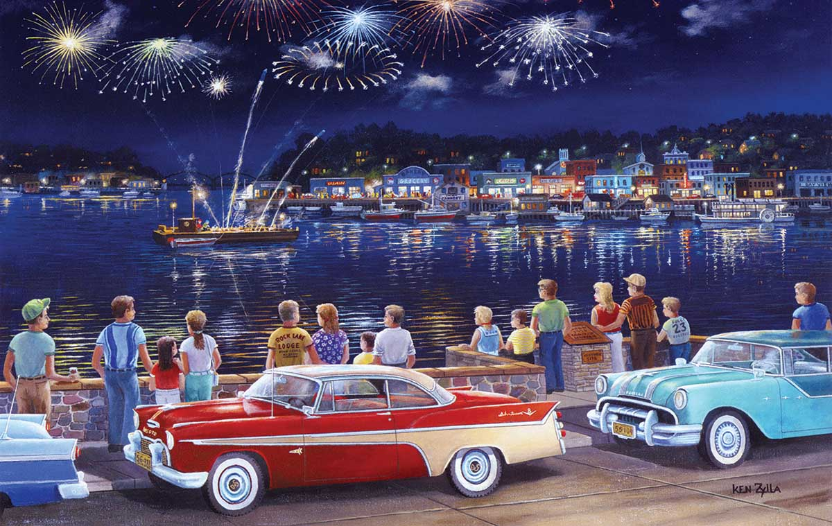 Grand Finale Fourth of July Jigsaw Puzzle