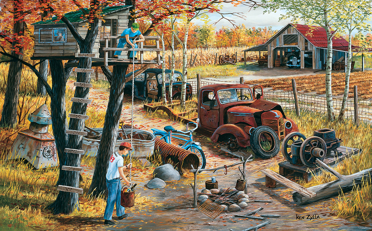 Base Camp - Scratch and Dent Farm Jigsaw Puzzle