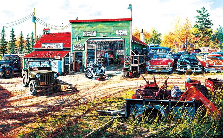 Precious Metals Cars Jigsaw Puzzle
