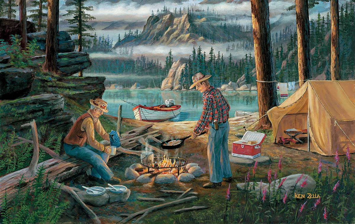 Alaska Adventure Travel Jigsaw Puzzle