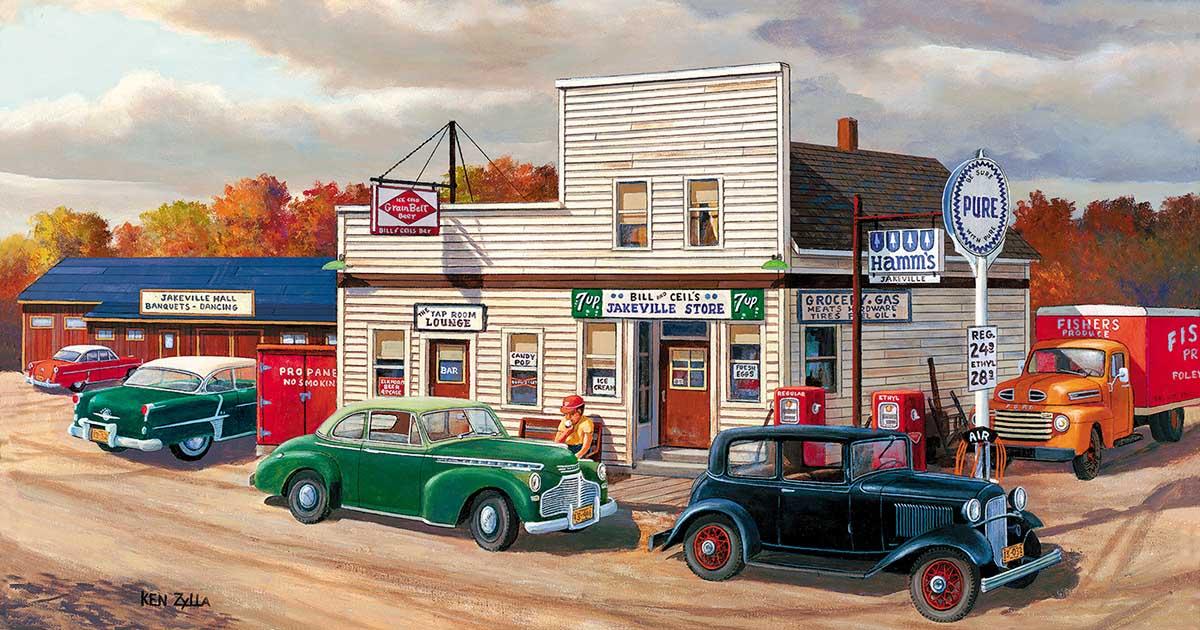 Jakeville Nostalgic / Retro Jigsaw Puzzle