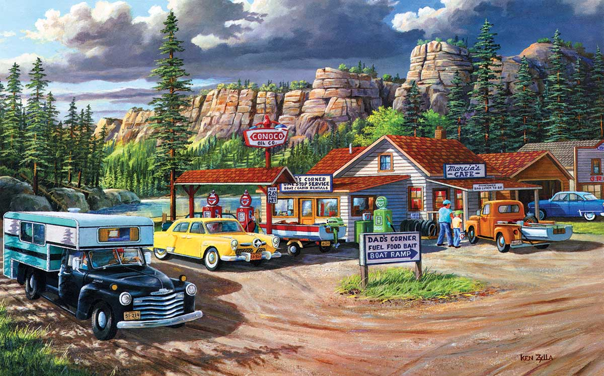 Edge of the Heartland Countryside Jigsaw Puzzle