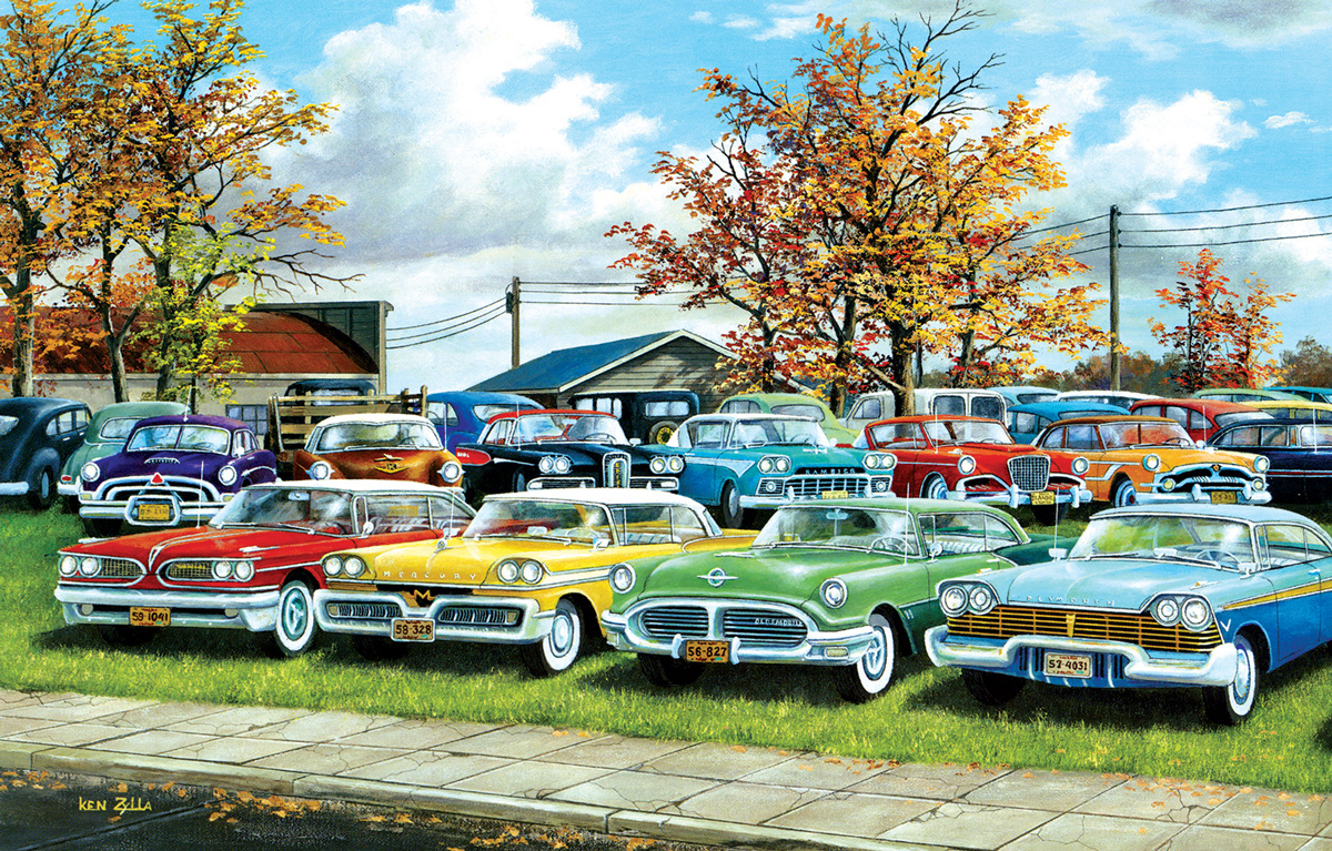 A Lost Generation Cars Jigsaw Puzzle