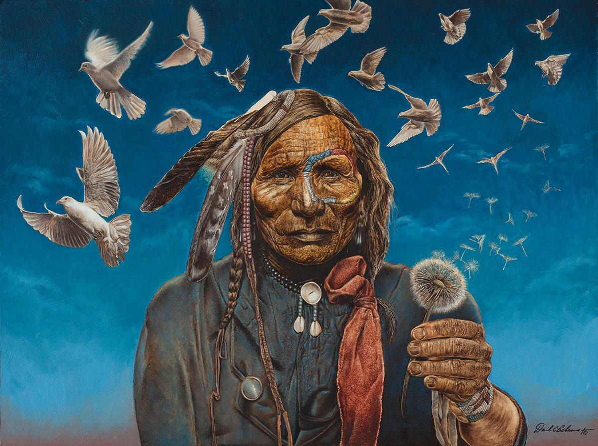 Peacemaker Birds Jigsaw Puzzle