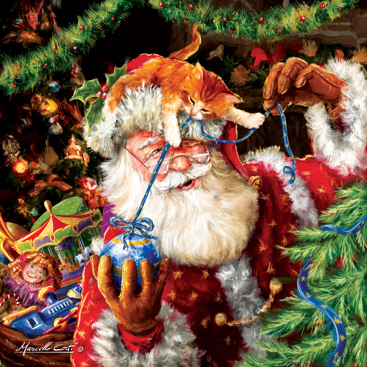 Let Me Help! Santa Jigsaw Puzzle
