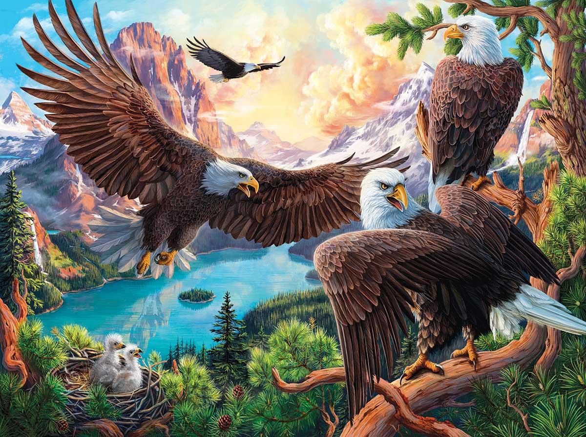 Eagle Dance Eagles Jigsaw Puzzle