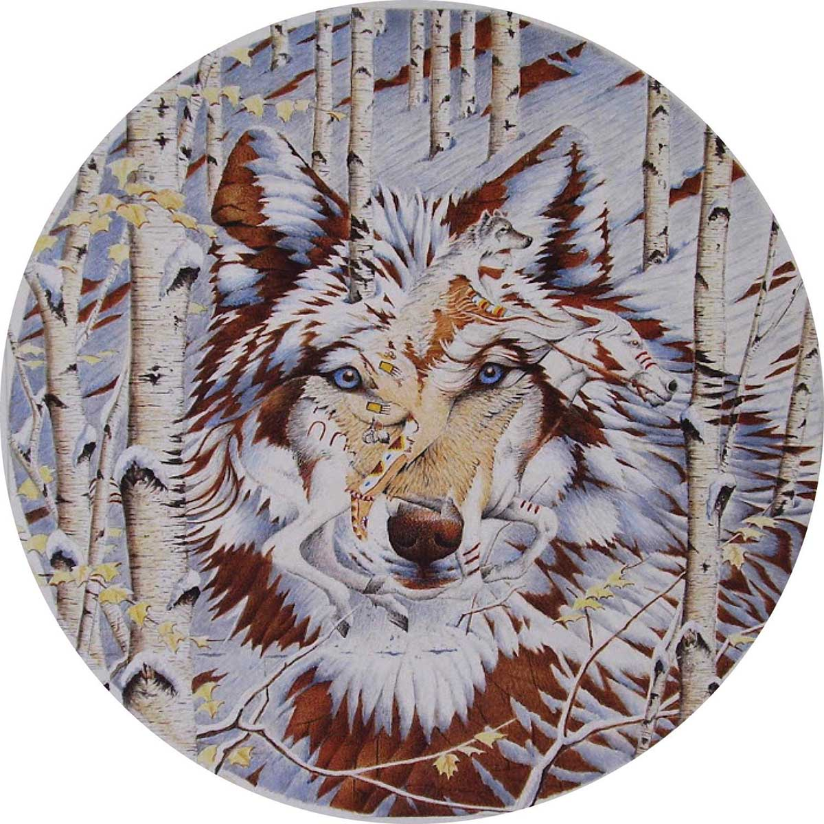Kindred Spirits Wolves Jigsaw Puzzle