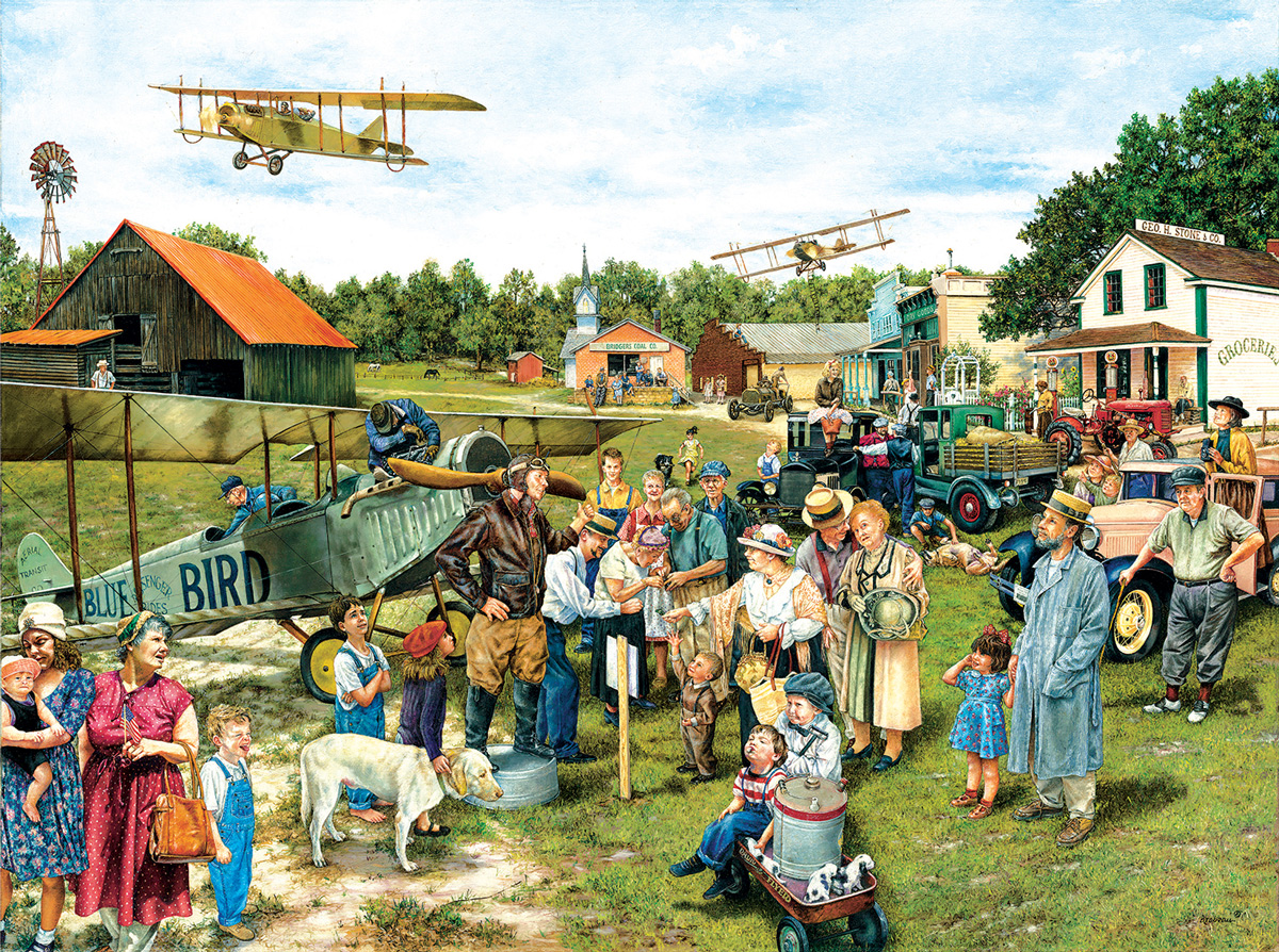 Barnstormers Planes Jigsaw Puzzle