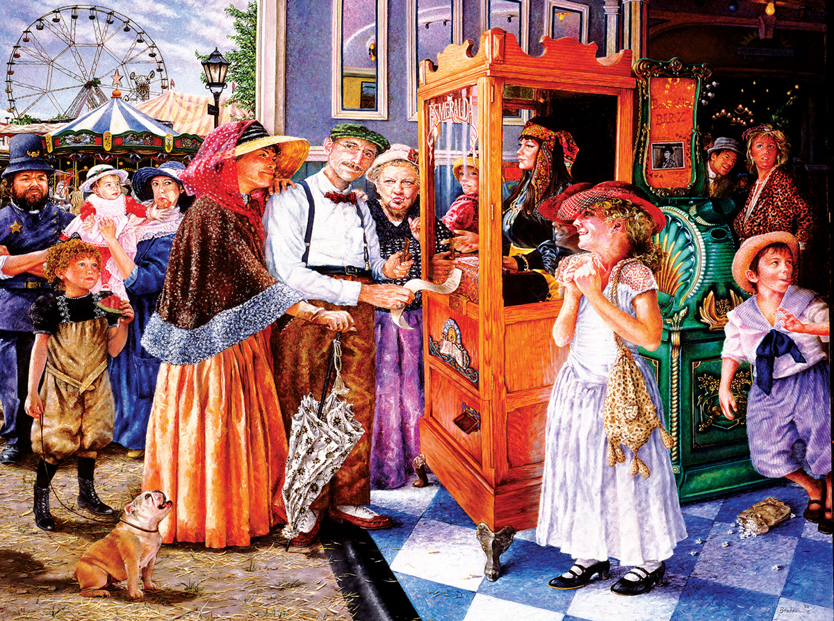 Fortune Teller Carnival Jigsaw Puzzle