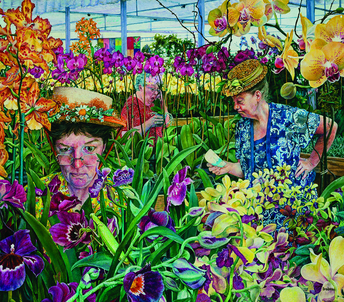 Orchid Society Flowers Jigsaw Puzzle