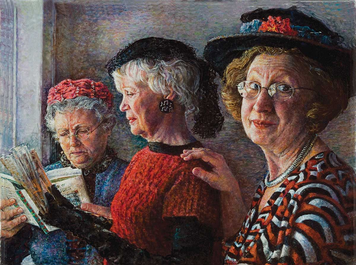Church Ladies People Jigsaw Puzzle