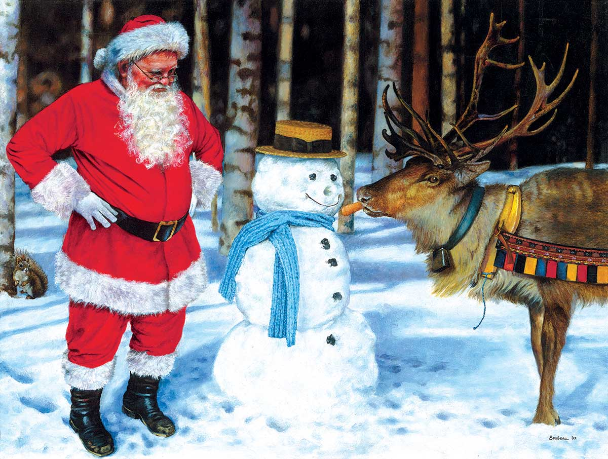 A Carrot for Rudolf Winter Jigsaw Puzzle