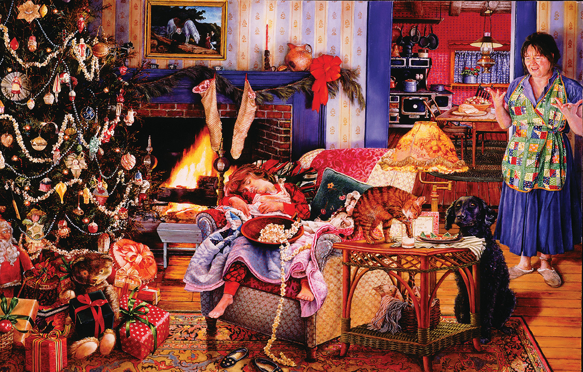 Christmas Thieves Christmas Jigsaw Puzzle