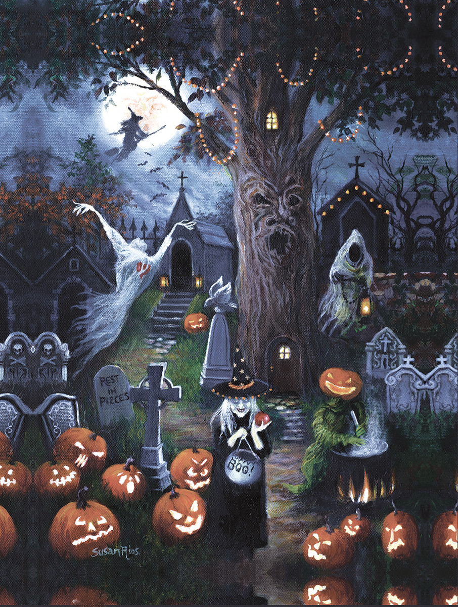 Halloween Night - Scratch and Dent Halloween Jigsaw Puzzle