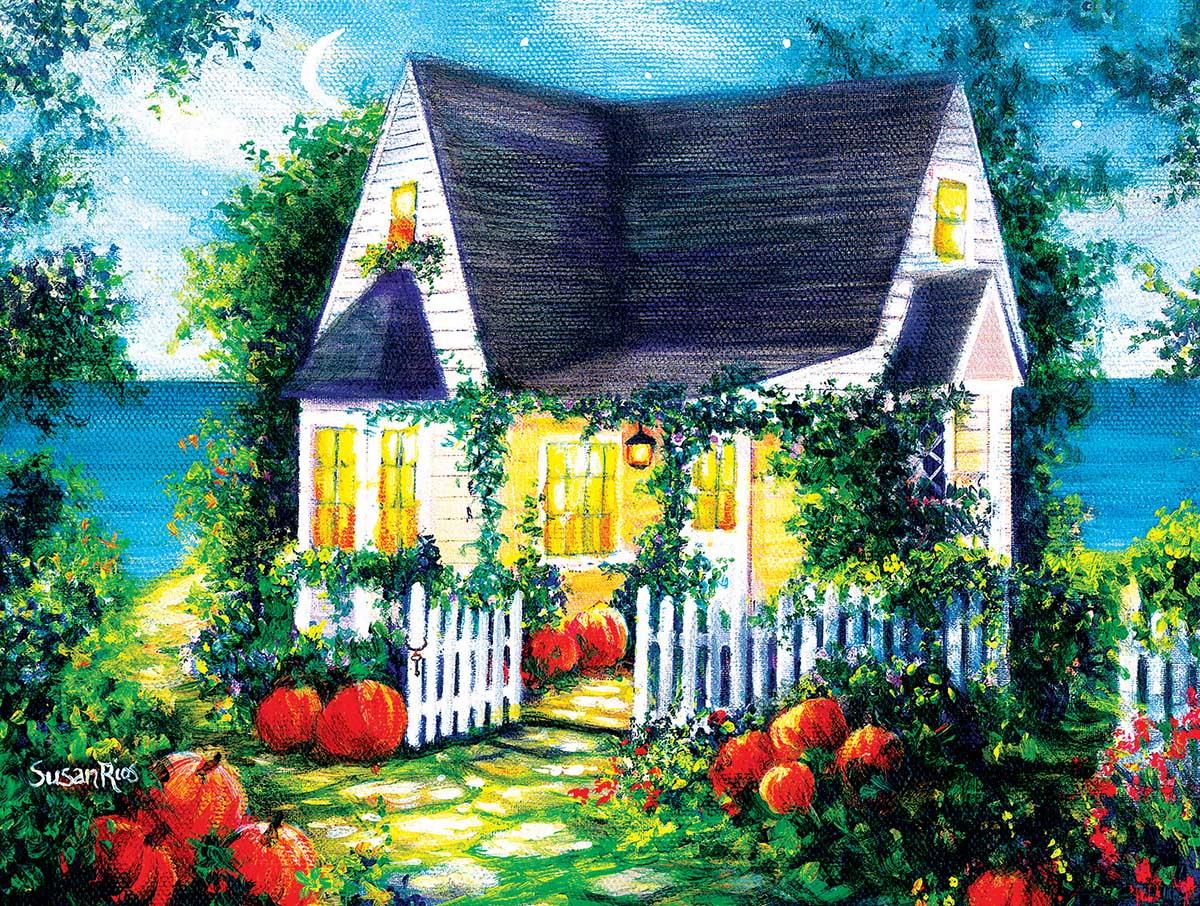 Halloween Cottage Halloween Jigsaw Puzzle