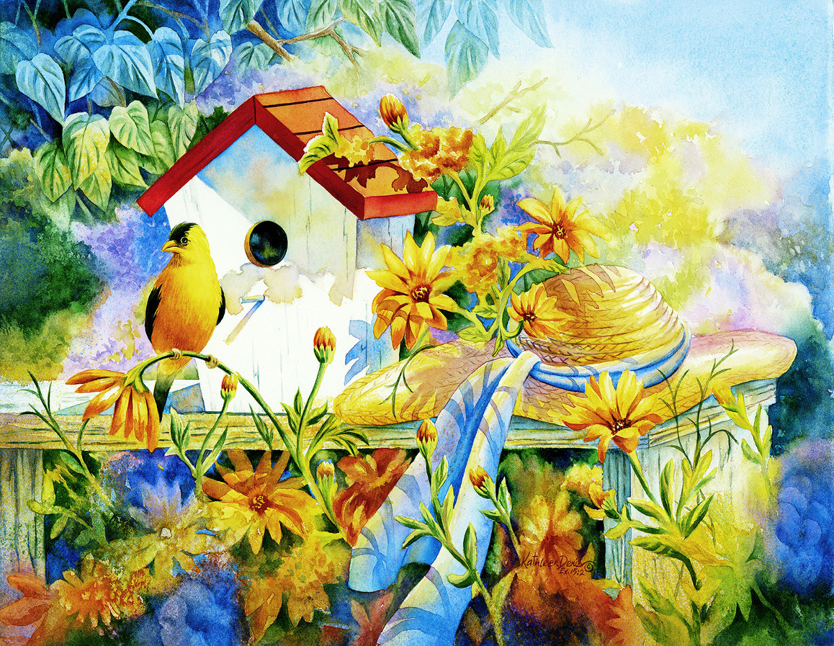 A Song for a New Day - Scratch and Dent Birds Jigsaw Puzzle