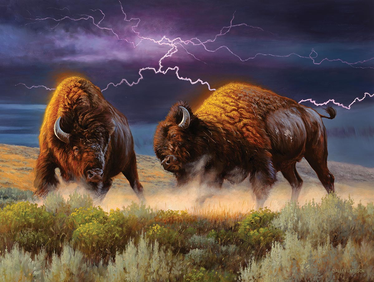Thunderstruck Wildlife Jigsaw Puzzle