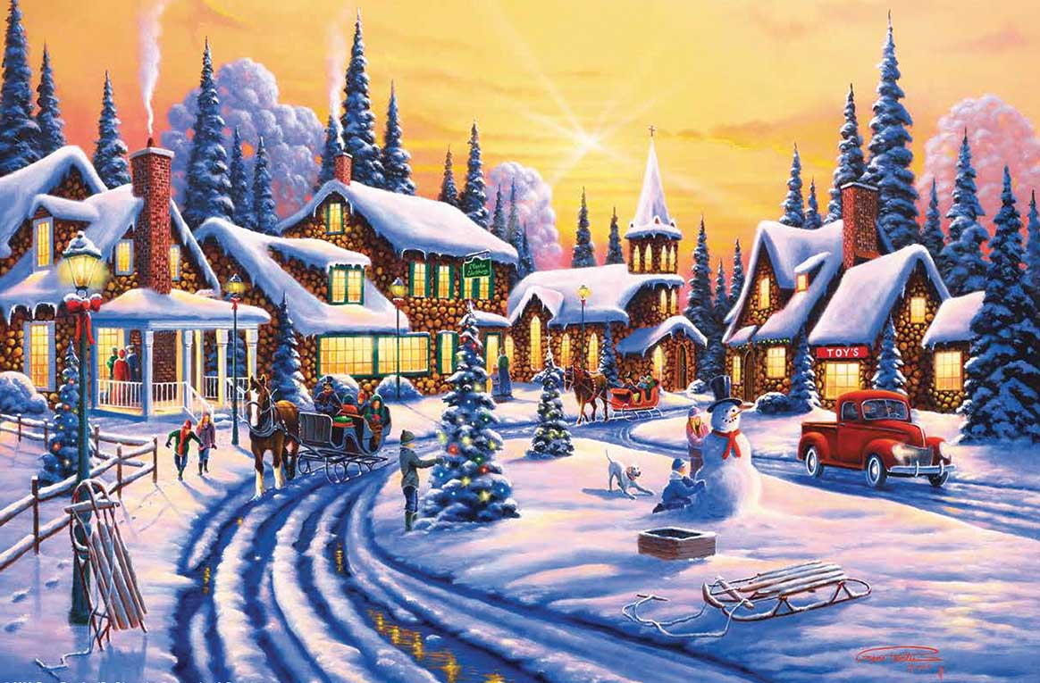 A Winter Story Winter Jigsaw Puzzle