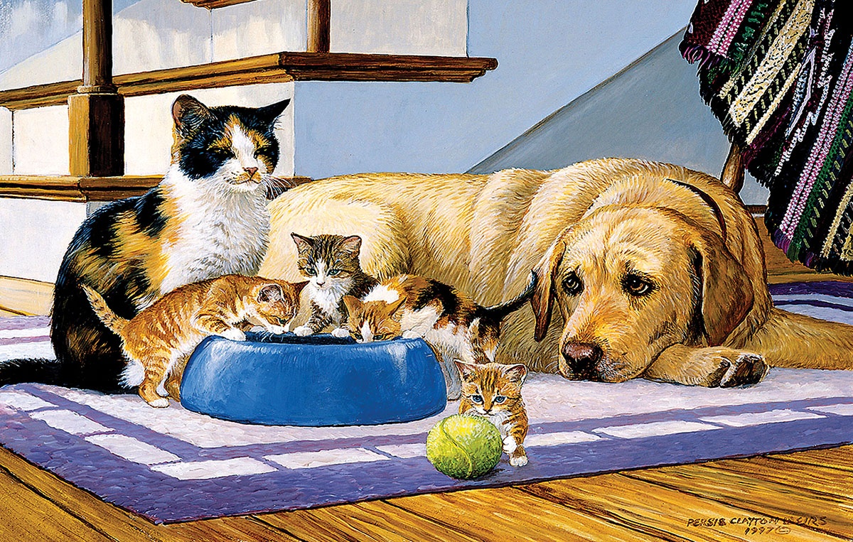 What's a Dog to Do? Cats Jigsaw Puzzle