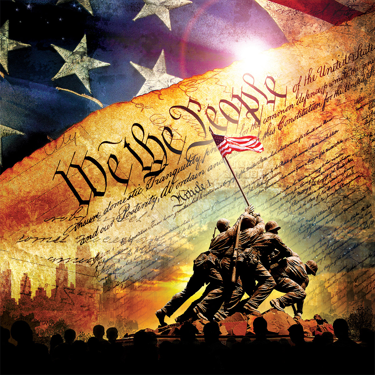 The Constitution Patriotic Jigsaw Puzzle