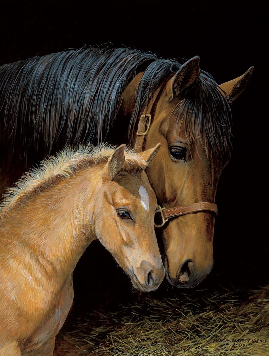 Bonding Horses Jigsaw Puzzle