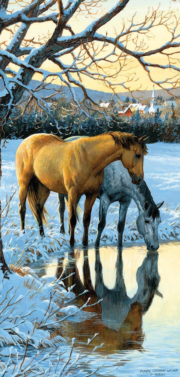 Reflections - Scratch and Dent Horses Jigsaw Puzzle