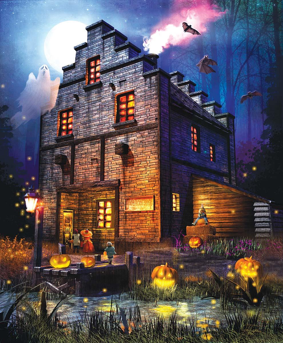Firefly Inn Halloween Jigsaw Puzzle