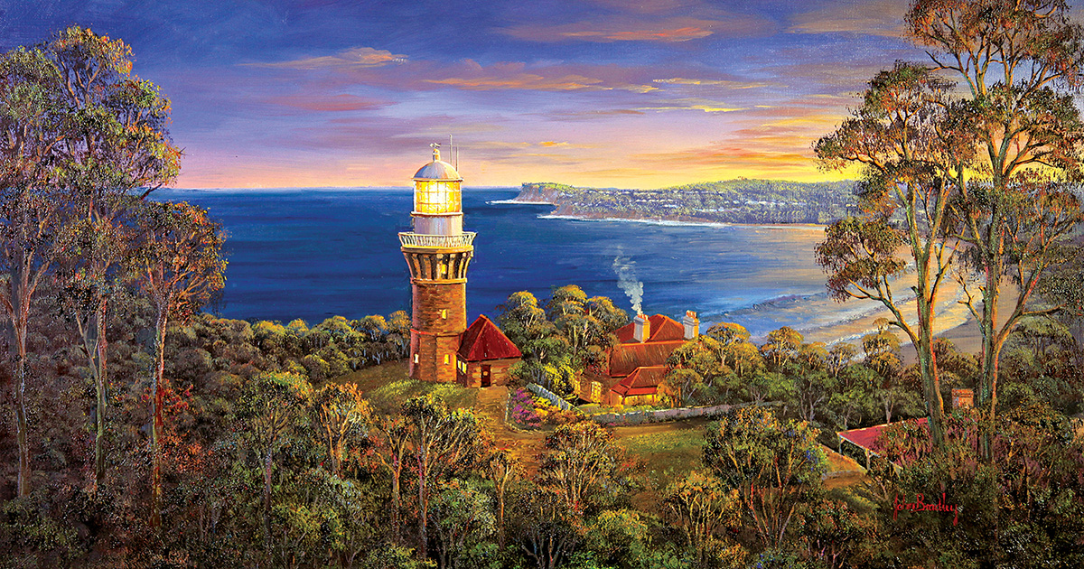 Barrenjoy Light Lighthouses Jigsaw Puzzle