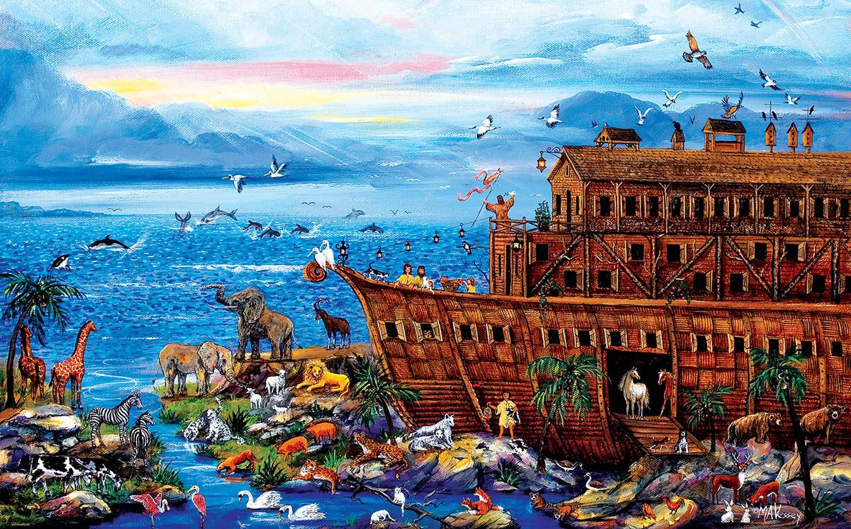 Landing Zone Animals Jigsaw Puzzle